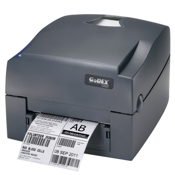 Godex G500, DT+TT, USB, Serial, ethernet